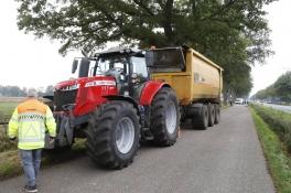 Fietser overleden na aanrijding door tractor in Sint-Anthonis