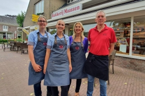 Bakkerij Maassen in Wanroij mag zich voortaan hofleverancier noemen