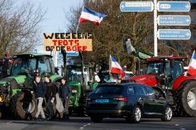 'Het is een zooitje ongeregeld', tocht van boeren gaat niet overal even soepel