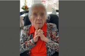 Tante Riek wordt 107, familie en zorgpersoneel zijn zuinig op Brabants oudste