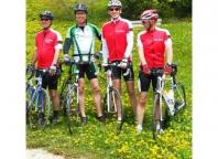 Frans de Kort op de Alpe d'huzes