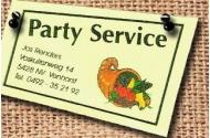 Party Service Jos Renders Logo
