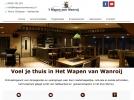 Nieuwe website van Het wapen van Wanroij