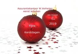 Assurantiekantoor W. Verheijen: Openingstijden Kerst / Oud en Nieuw