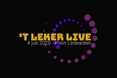 Evenement: 't Leker Live