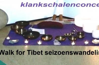 Evenement: Walk for Tibet seizoenswandeling met klankschalenconcert