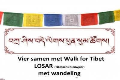 Evenement: Walk for Tibet viert Losar met seizoenswandeling