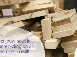 23 sept. hout inzamelen in Mill